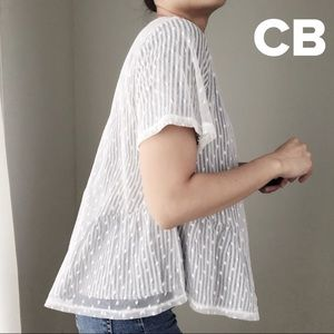 CHICBOMB Tops - Sweet tulle layer top